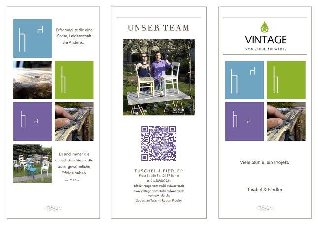 Come fly with me - unser Flyer steht - Vintage Design