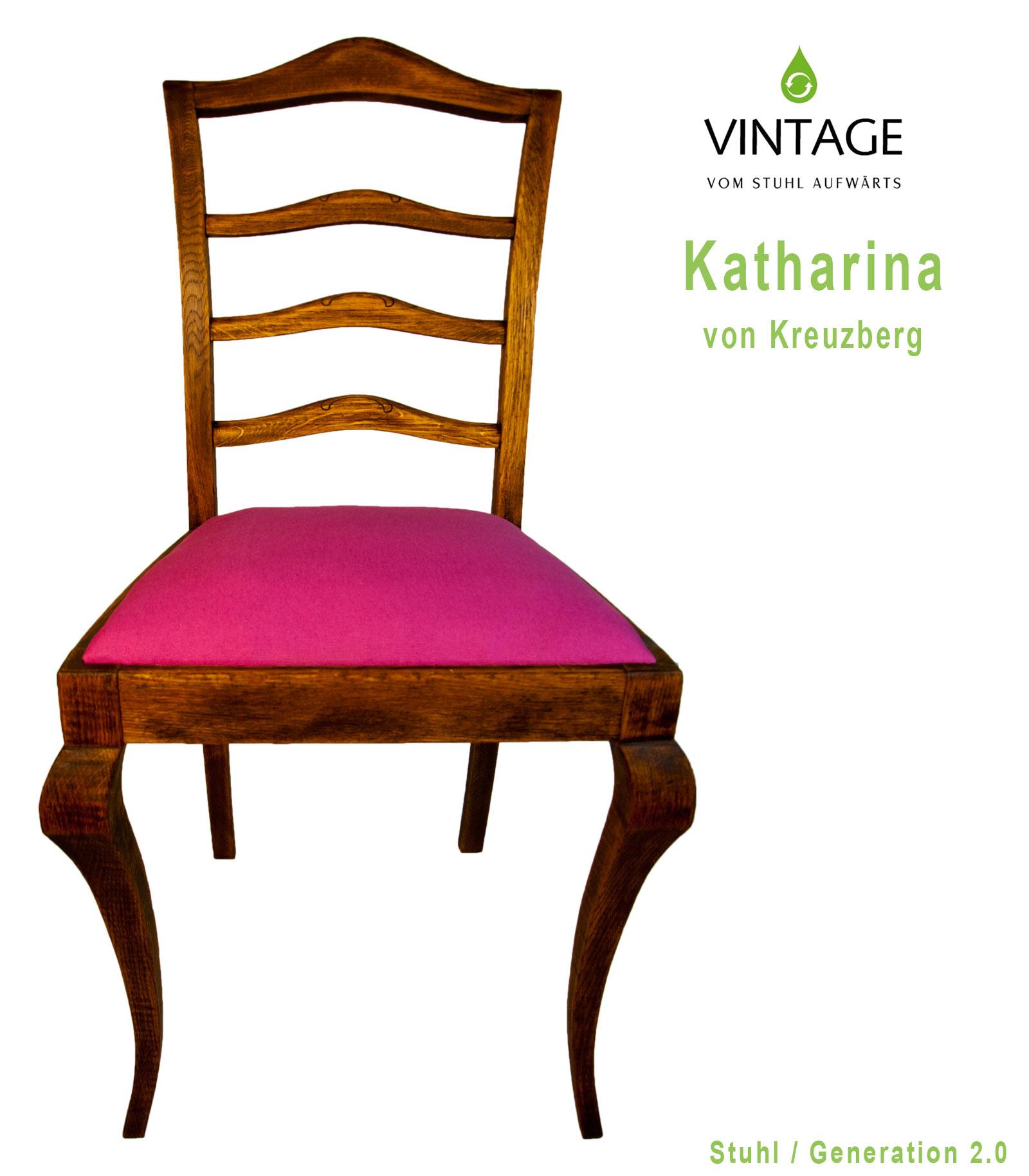 Wir stellen vor: Katharina von Kreuzberg - Leinöl an pink